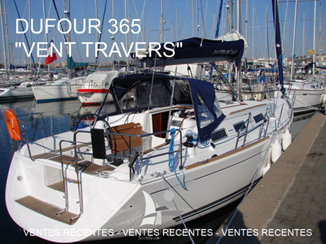 Dufour 365 Vent travers